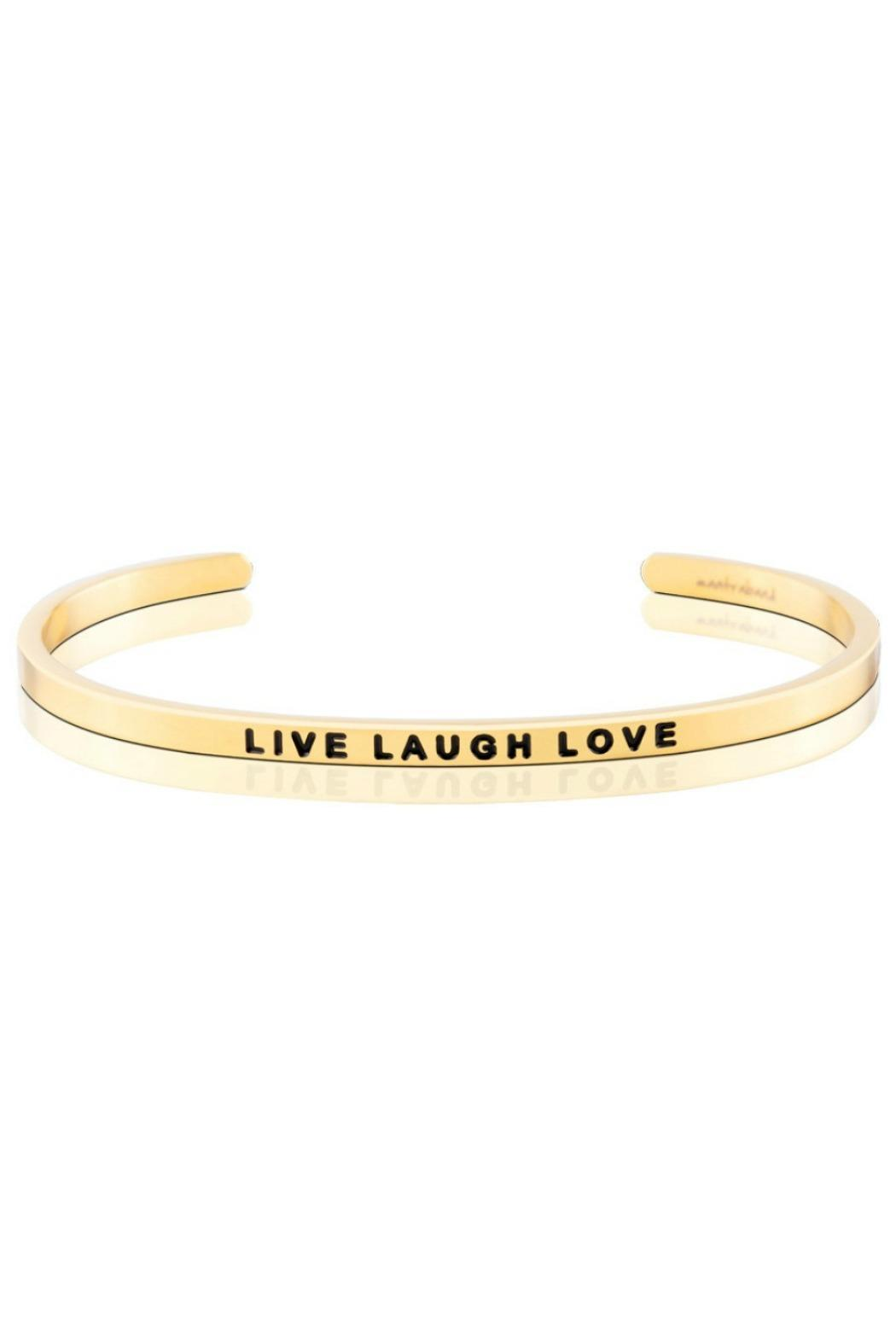 Mantraband Live Laugh Love Bracelet - Main Image