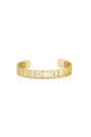 Mantraband She Believed She Could  Cuff - Product Mini Image