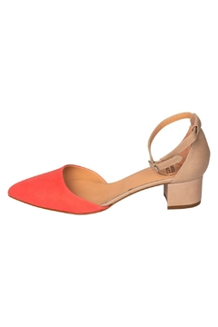 Manu Mari Coral Low-Heeled Mary-Janes - Product List Image