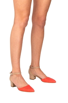 Manu Mari Coral Low-Heeled Mary-Janes - Alternate List Image