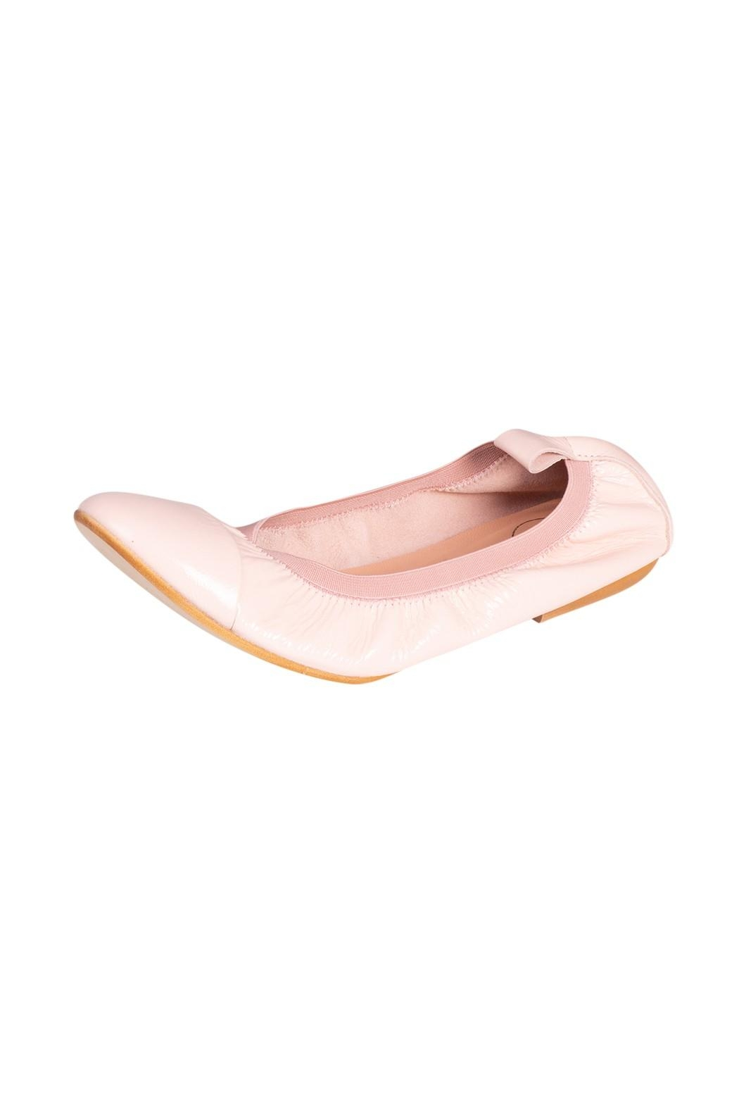 Manu Mari Leather Ballet Flats - Front Full Image