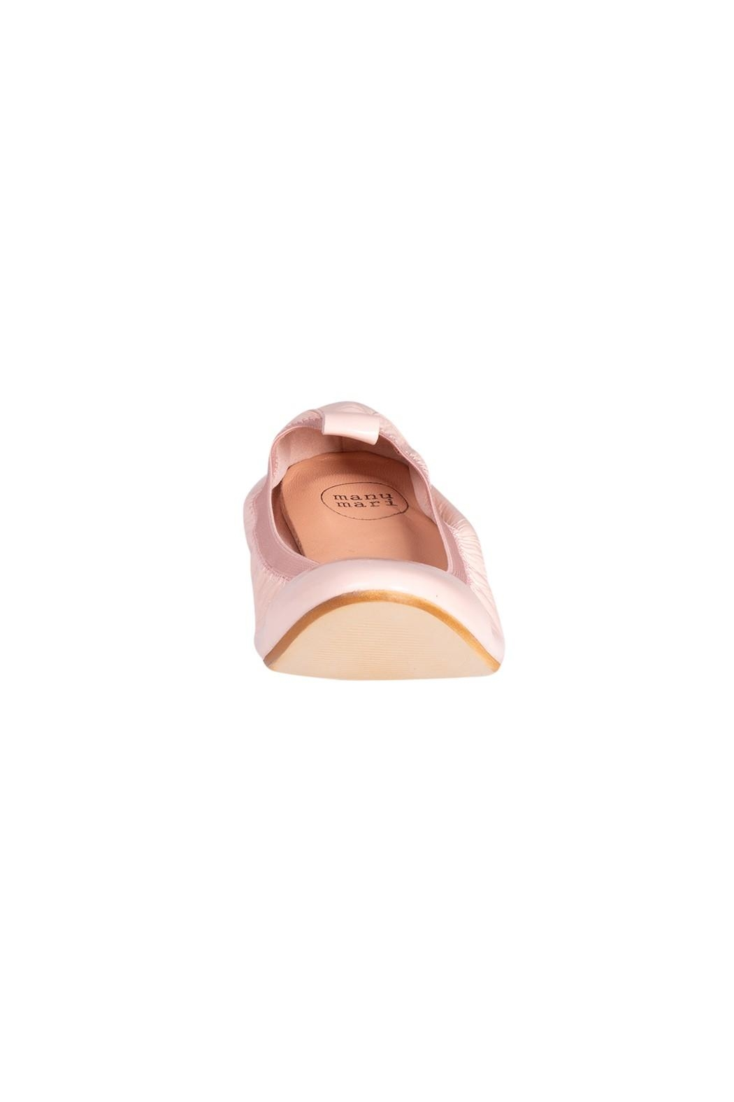 Manu Mari Leather Ballet Flats - Side Cropped Image