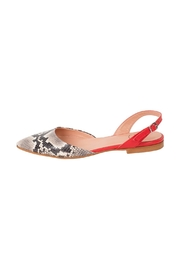 Manu Mari Leather, Snakeskin, Flat-Sandal - Product Mini Image