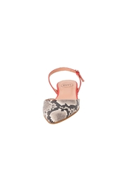 Manu Mari Leather, Snakeskin, Flat-Sandal - Side cropped