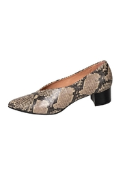 Manu Mari Snakeskin Leather Pump - Product Mini Image