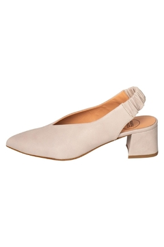 Manu Mari Stone Block-Heeled Slingbacks - Product List Image