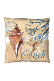 Manual Woodworkers and Weavers Captiva Conch Pillow - Product Mini Image