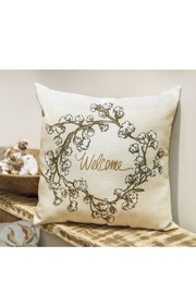 Manual Woodworkers and Weavers Cotton Welcome Pillow - Product Mini Image