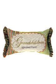 Manual Woodworkers and Weavers Grandchildren Spoiled Pillow - Product Mini Image