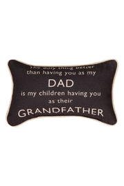 Manual Woodworkers and Weavers Grandfather Pillow - Front cropped
