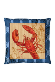 Manual Woodworkers and Weavers Lobster Pillow - Product Mini Image