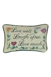 Manual Woodworkers and Weavers Love Much Pillow - Product Mini Image