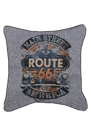 Manual Woodworkers and Weavers Main Street Pillow - Product Mini Image