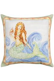Manual Woodworkers and Weavers Mermaid Pillow - Product Mini Image