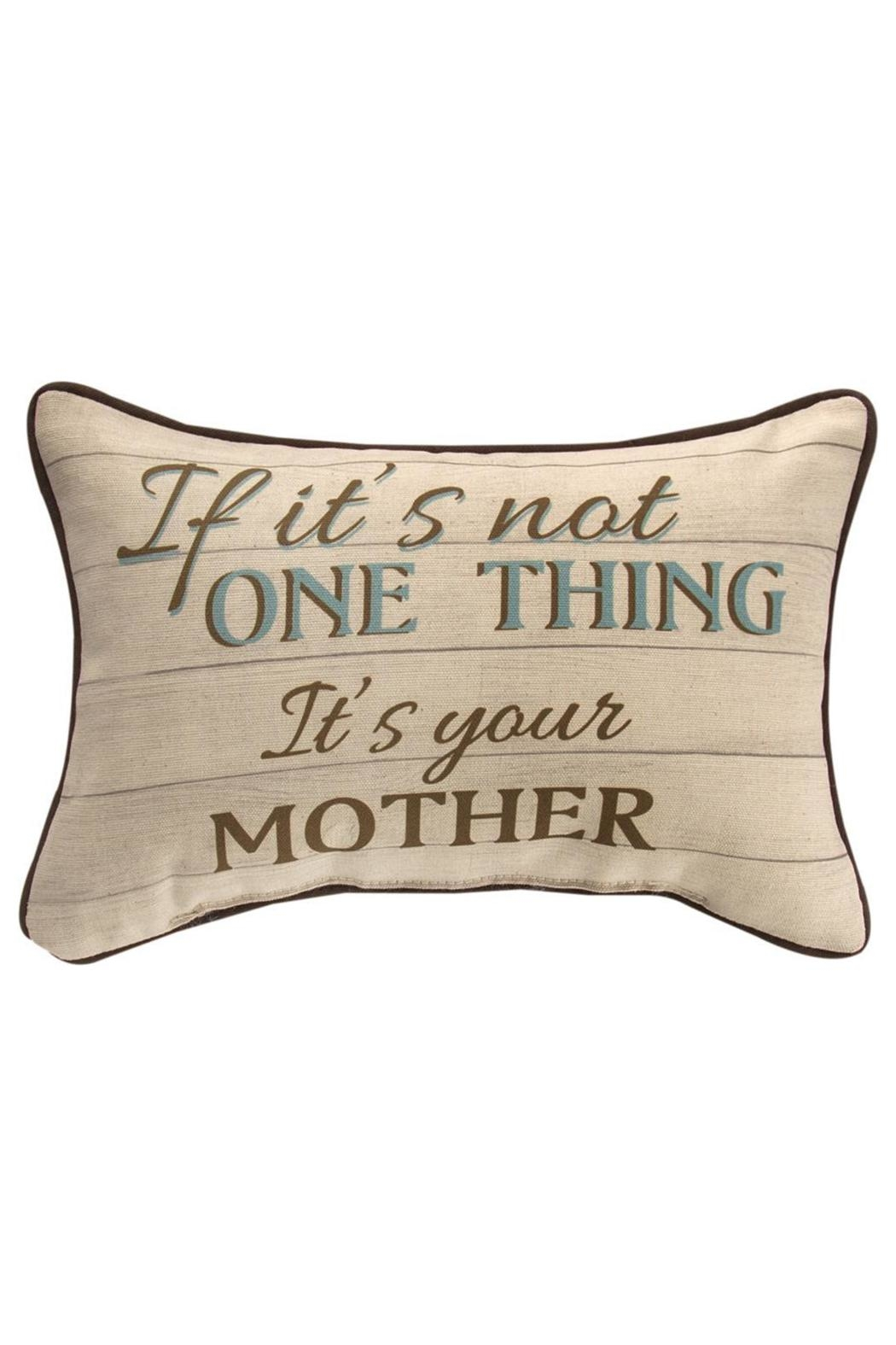 Manual Woodworkers and Weavers Mother Pillow - Main Image