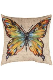 Manual Woodworkers and Weavers Multicolor Butterfly Pillow - Product Mini Image