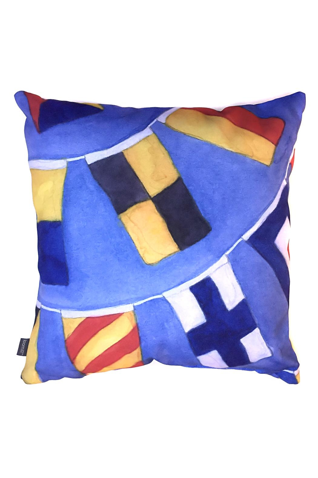 Manual Woodworkers and Weavers Nautical Signals Pillow - Main Image