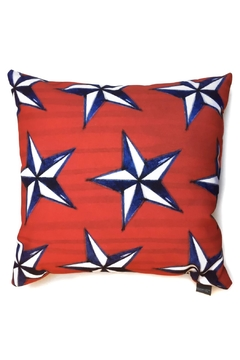Manual Woodworkers and Weavers Nautical Stars Pillow - Alternate List Image
