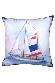 Manual Woodworkers and Weavers Sailboat 2 Pillow - Product Mini Image