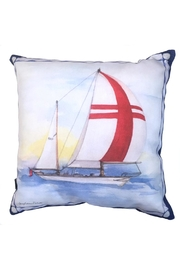 Manual Woodworkers and Weavers Sailboat 3 Pillow - Product Mini Image