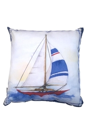 Manual Woodworkers and Weavers Sailboat 4 Pillow - Product Mini Image