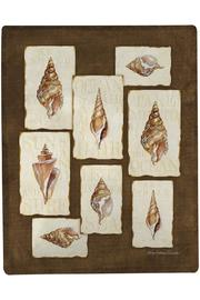 Manual Woodworkers and Weavers Seashells Throw - Product Mini Image