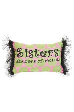 Shoptiques Product: Sisters Pillow