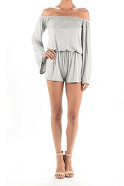 MANY MANY Off Shoulder Romper - Product Mini Image