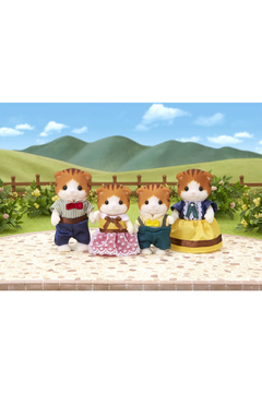 Calico Critters Maple Cat Family - Alternate List Image