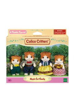 Calico Critters Maple Cat Family - Product List Image