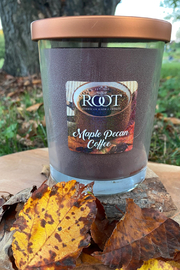 ROOT  Maple Pecan Coffee 16oz Candle - Product Mini Image
