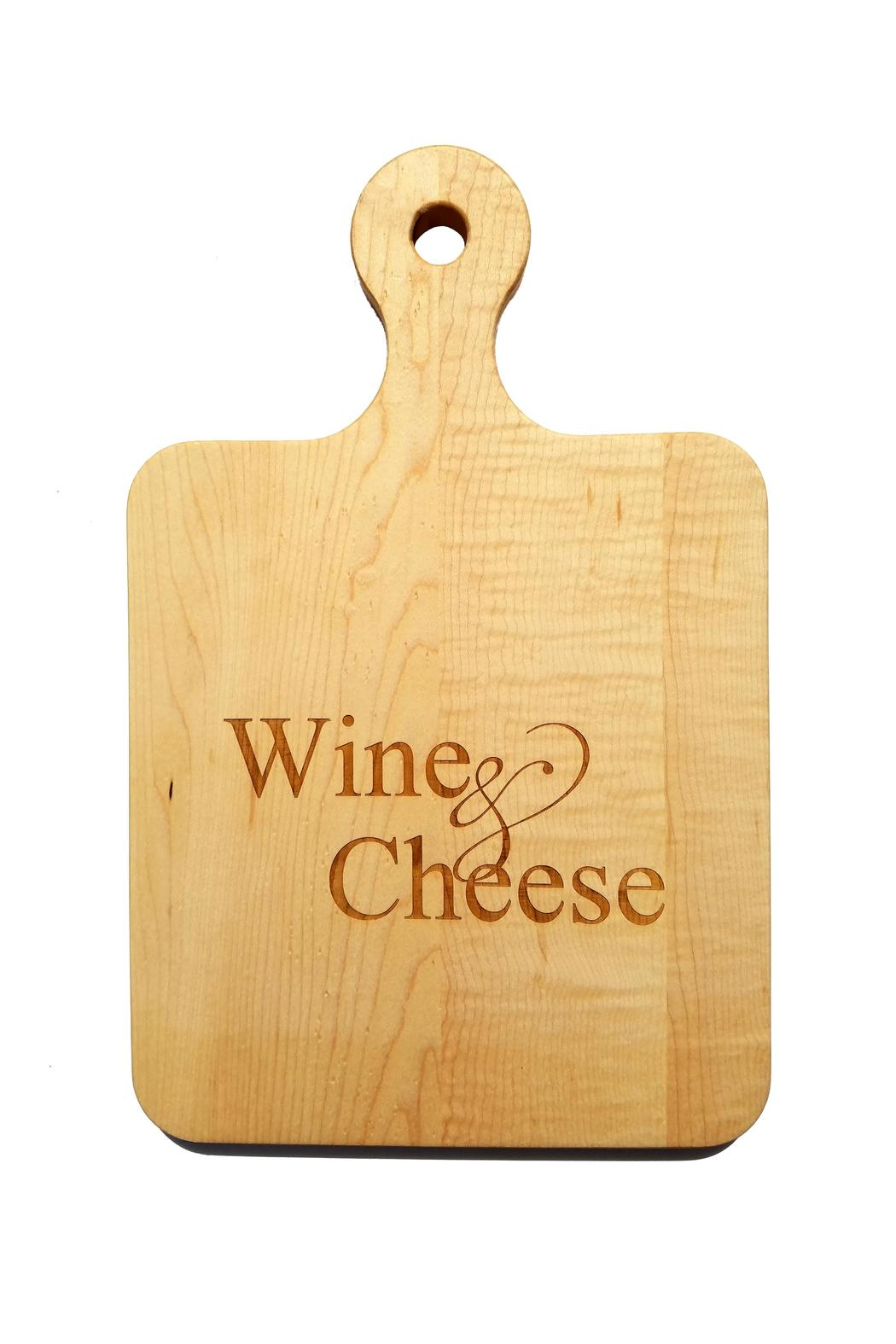 Maple Leaf At Home Wine Cheese Cutting Board Front Cropped Image