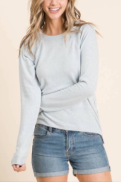 Maple Sage Zippy Lightweight Sweater - Product List Image