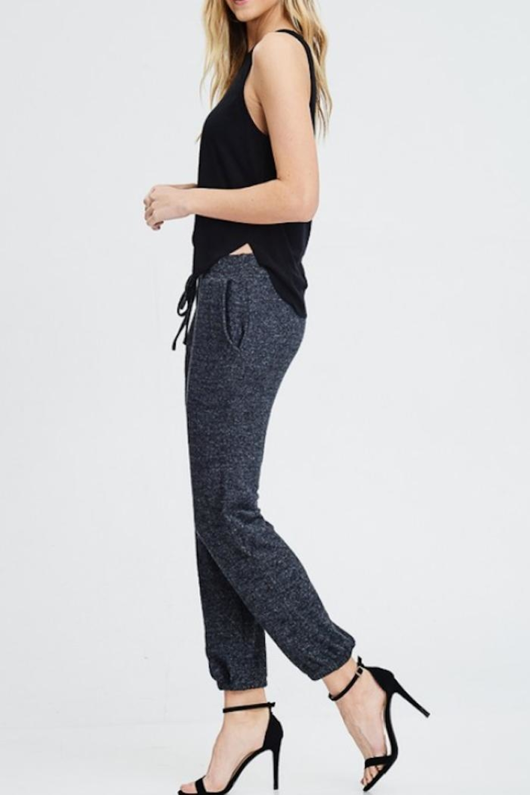 MapleSage Soft Lounge Joggers - Side Cropped Image
