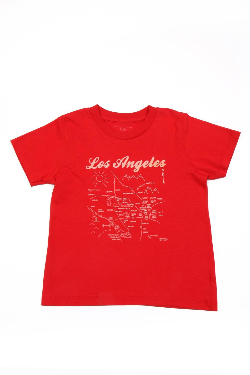 Maptote Los Angeles Map Tee - Main Image