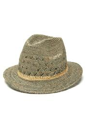 Mar Y Sol Avery Crocheted Fedora - Product Mini Image