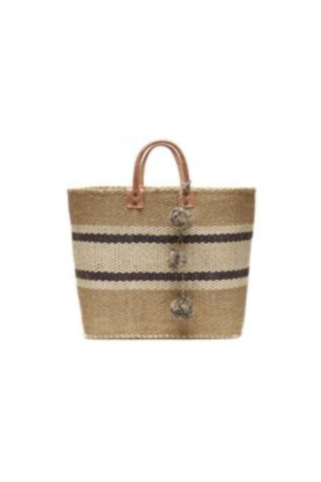 Mar Y Sol Cyprus Striped Tote - Main Image