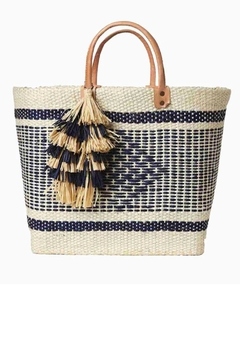 Mar Y Sol Ibiza Tassel Tote - Alternate List Image