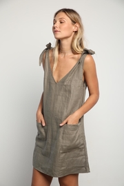 LILYA Mara Linen Dress - Product Mini Image