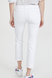 DL1961 Mara Straight Ankle Milk - Side cropped