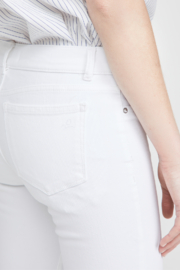 DL1961 Mara Straight Ankle Milk - Back cropped