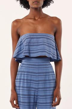 Mara Hoffman Strapless Cropped Top - Product List Image