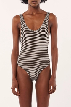 Shoptiques Product: Striped Tank Bodysuit