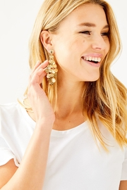 Lilly Pulitzer Maraca Earrings - Front full body