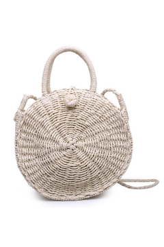 Moda Luxe Marbella Straw Crossbody - Product List Image