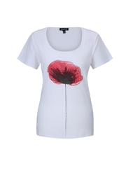 Marble Abstract Flower Tee - Product Mini Image