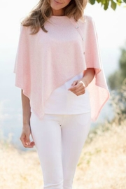 Marble Asymmetrical Knit Shrug - Product Mini Image