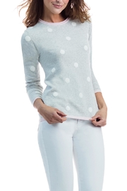 Marble Soft Grey Dotted Sweater - Product Mini Image