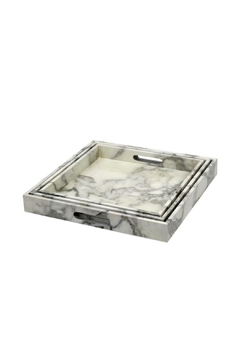Indaba Marble Effect Trays - Alternate List Image