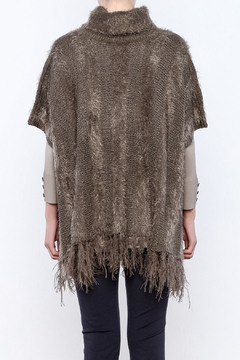 Marble Eyelash Cowl Poncho - Alternate List Image